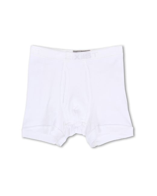 2xist | White Pima Boxer Brief for Men | Lyst