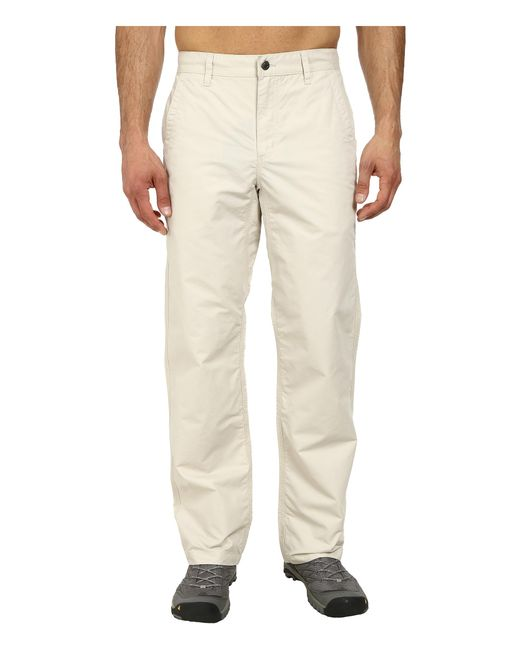Mountain Khakis | White Poplin Pant for Men | Lyst
