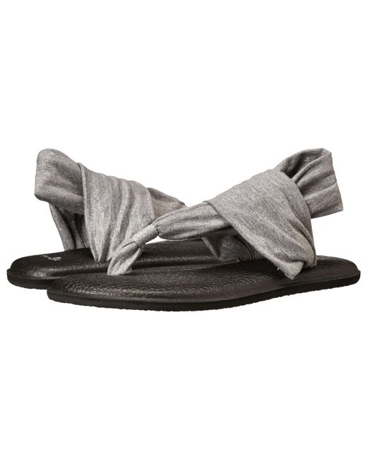 Sanuk | Gray Yoga Sling 2 Metallic | Lyst