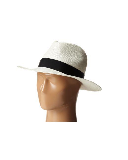 Hat Attack   Black Panama Continental   Lyst