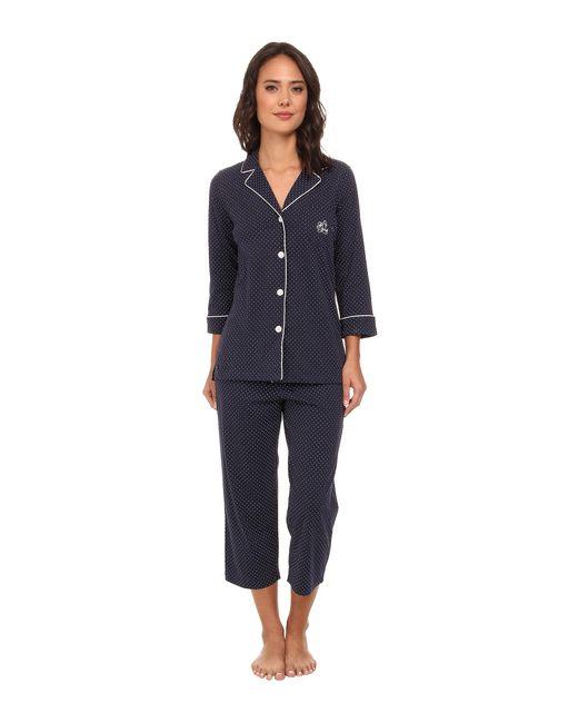 Lauren by Ralph Lauren | Blue Plus Windsor Pajama Set | Lyst