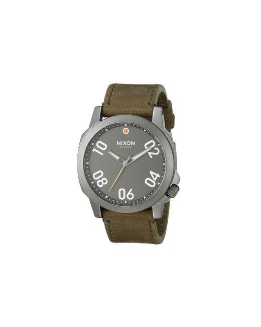 Nixon | Brown Ranger 45 Leather | Lyst