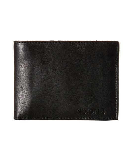 Nixon | Black Legacy Bi-fold Wallet for Men | Lyst