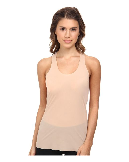 Commando | Natural Whisper Racerback Tank Top Wrt01 | Lyst