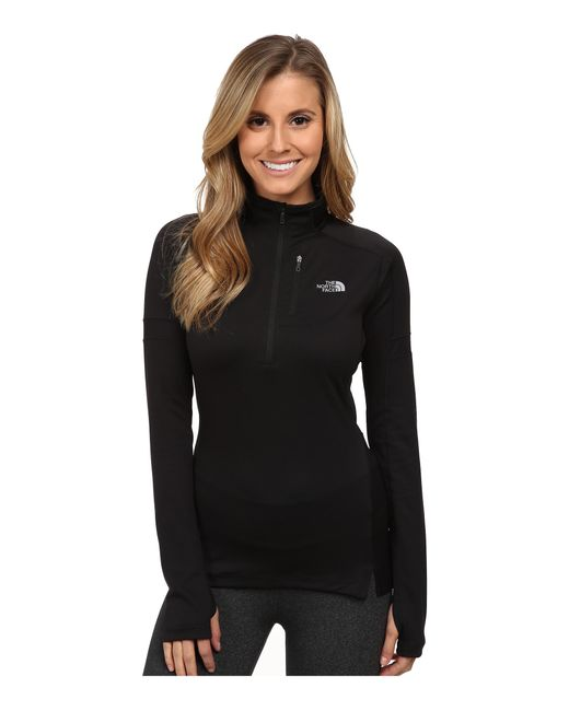 The North Face | Black Impulse Active 1/4 Zip Pullover | Lyst