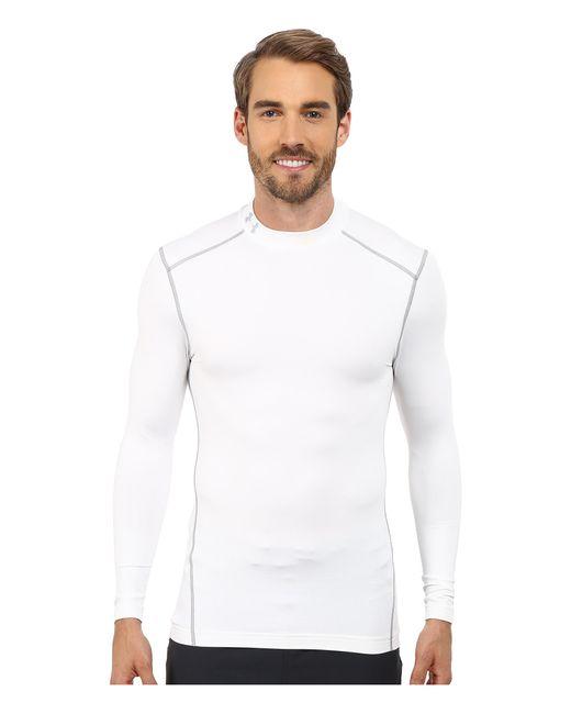Under Armour   White Ua Coldgear® Armour® Compression Mock for Men   Lyst