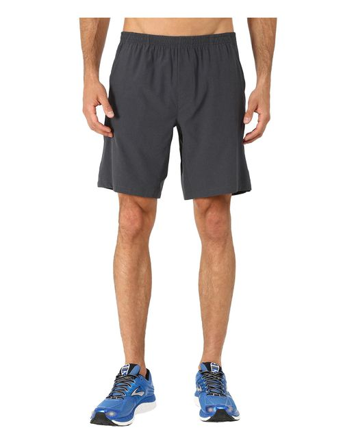 "Brooks | Black Rush 9"" Shorts for Men 
