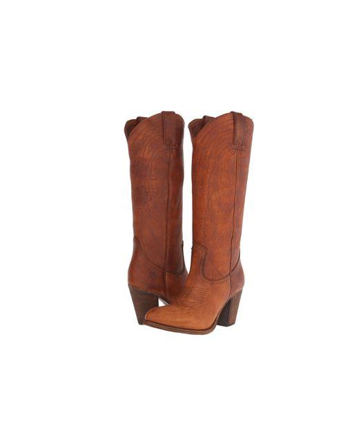 Frye   Brown Ilana Western Boots   Lyst