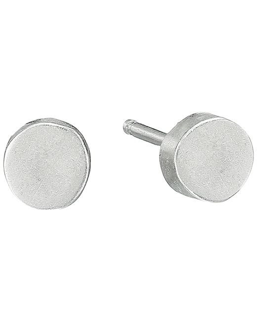 Dogeared | Metallic The Circle Thick Circle Stud Earrings | Lyst