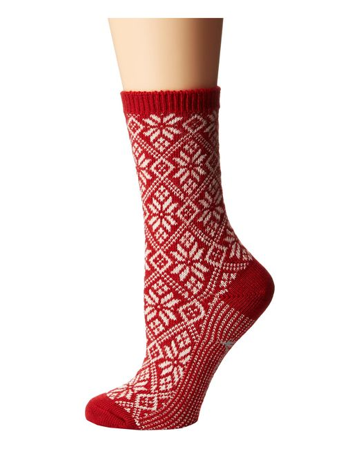 Smartwool | Red Traditional Snowflake | Lyst