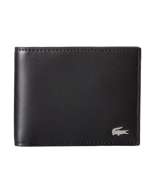 Lacoste | Black Fg Small Billfold Key Ring for Men | Lyst