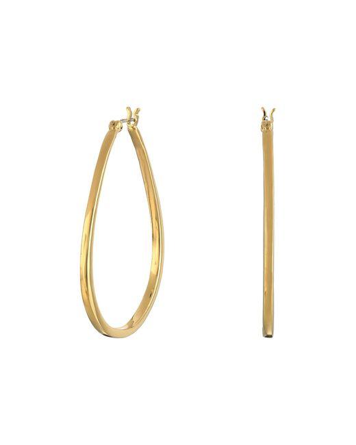 Sam Edelman | Metallic Organic Hoop Earrings | Lyst