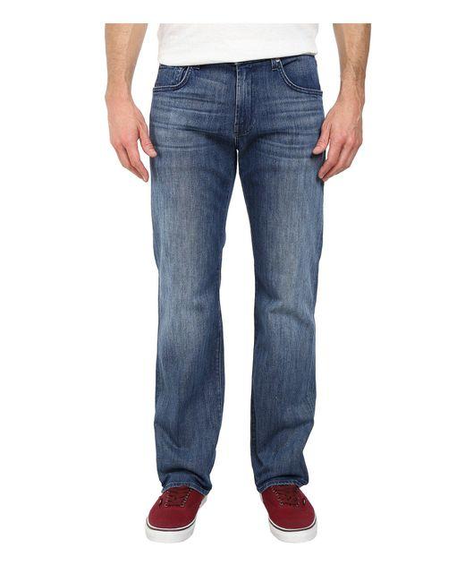 7 For All Mankind | Austyn Relaxed Straight Leg In Nakkitta Blue for Men | Lyst