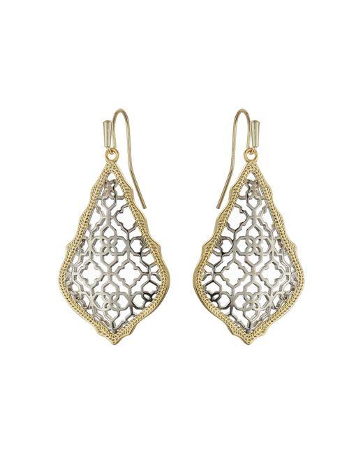 Kendra Scott   Metallic Addie Earrings   Lyst