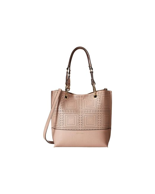 Calvin Klein | Natural Novelty Tote | Lyst