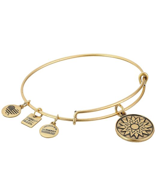 ALEX AND ANI | Metallic Charity By Design New Beginnings Charm Bangle | Lyst