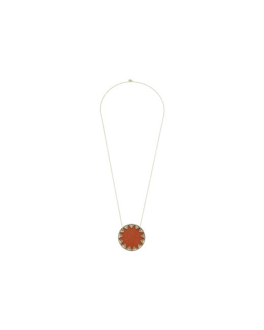 House of Harlow 1960 | Multicolor Sunburst Pyramid Pendant Necklace | Lyst
