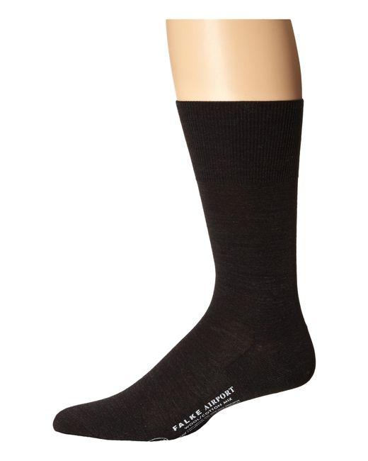 Falke | Gray Airport Crew Socks for Men | Lyst