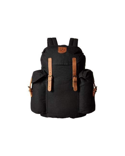 Fjallraven | Black Övik Backpack 15 | Lyst