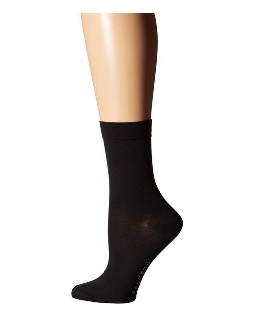 Falke   Black Cotton Touch Socks   Lyst
