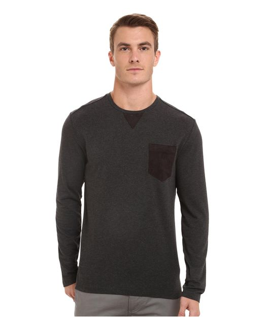 7 Diamonds | Gray Cain Long Sleeve Shirt for Men | Lyst