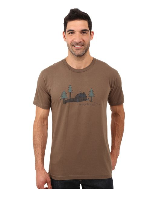 Toad&Co | Brown Weekend Cabin Short Sleeve Tee for Men | Lyst