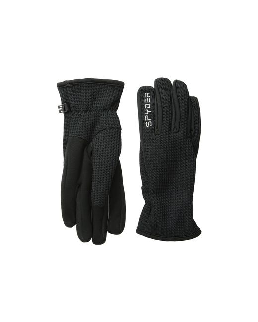 Spyder | Black Core Sweater Conduct Glove | Lyst