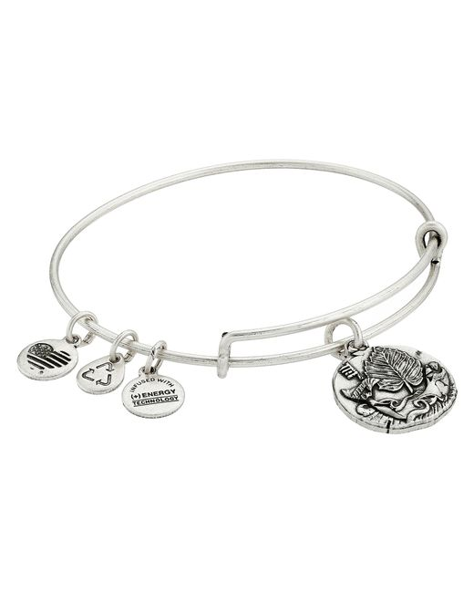 ALEX AND ANI | Metallic Ruler Of The Woods - Well Of Wisdom Hazel Bangle | Lyst