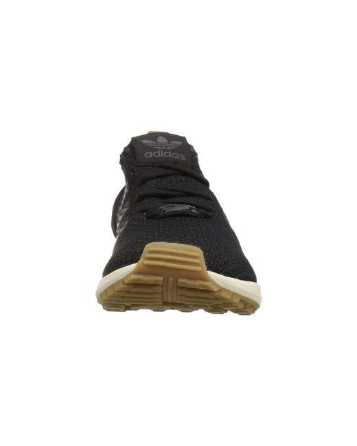 a272c8ad85f13 ... Adidas Originals - Black Zx Flux Primeknit for Men - Lyst