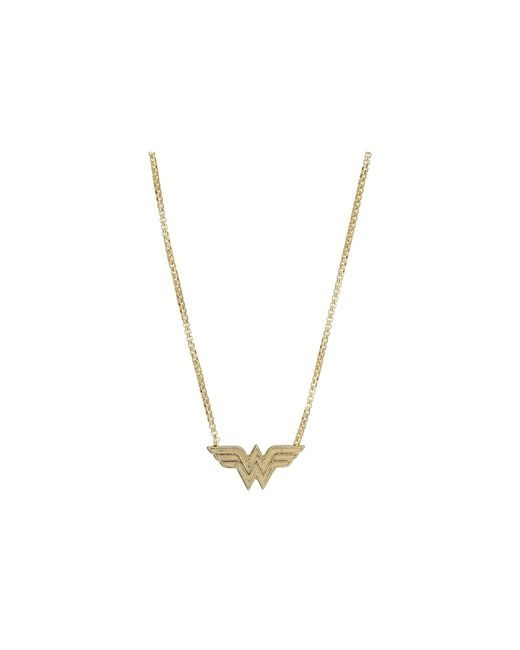 ALEX AND ANI - Metallic Wonder Woman Adjustable 21 In Necklace (14kt Gold Plated) Necklace - Lyst