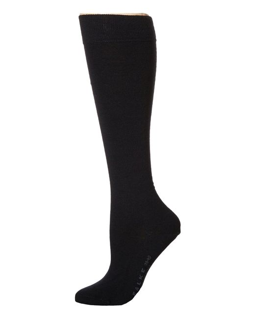 Falke | Black Soft Merino Knee Highs | Lyst