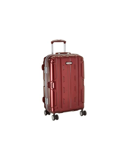 "Samsonite | Purple Cruisair Dlx 21"" Spinner 