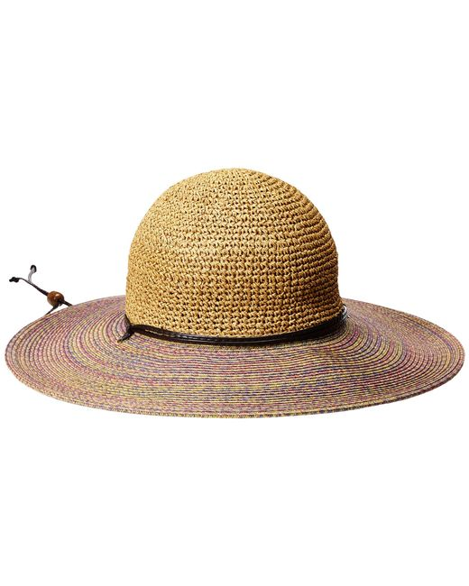 San Diego Hat Company | Purple Ubl6483 4 Inch Brim Sun Hat With Adjustable Chin Cord | Lyst