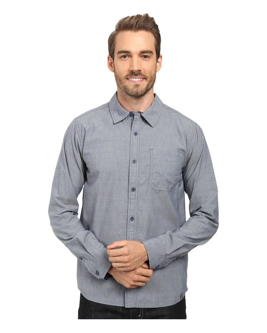 Smartwool | Blue Summit County Chambray Long Sleeve Shirt for Men | Lyst
