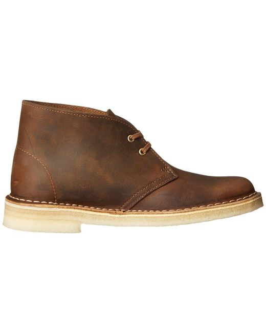 ea1529adb3d ... Clarks - Natural Desert Boot (pale Yellow Suede) Women s Lace-up Boots  ...