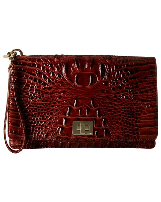 Brahmin | Brown Lily Pouch | Lyst