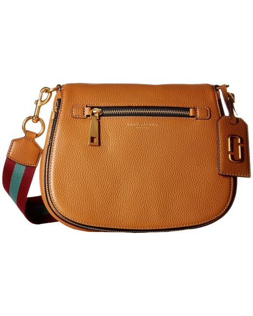 Marc Jacobs | Brown Gotham Saddle Bag | Lyst