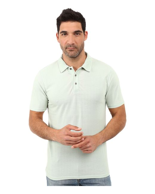 Threads For Thought The Blake Polo In White For Men Lyst