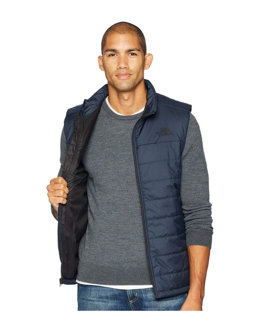 Lyst - The North Face Bombay Vest (tnf Black) Men s Vest in Blue for Men 81c7632da