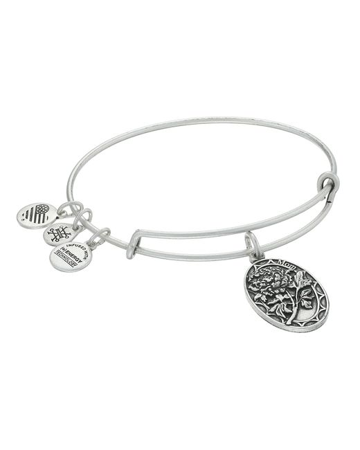 ALEX AND ANI | Metallic Because I Love You Mom Ii Bracelet | Lyst