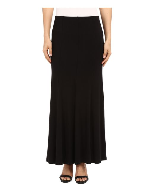 flare maxi skirt in black save 9 lyst