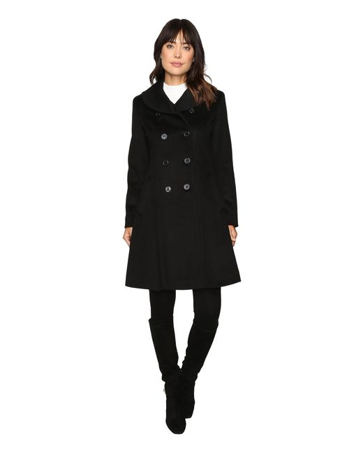 Lauren by Ralph Lauren | Black Fit And Flare Military | Lyst