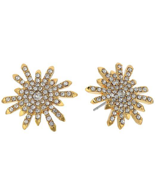Vince Camuto | Metallic Stud Earrings | Lyst