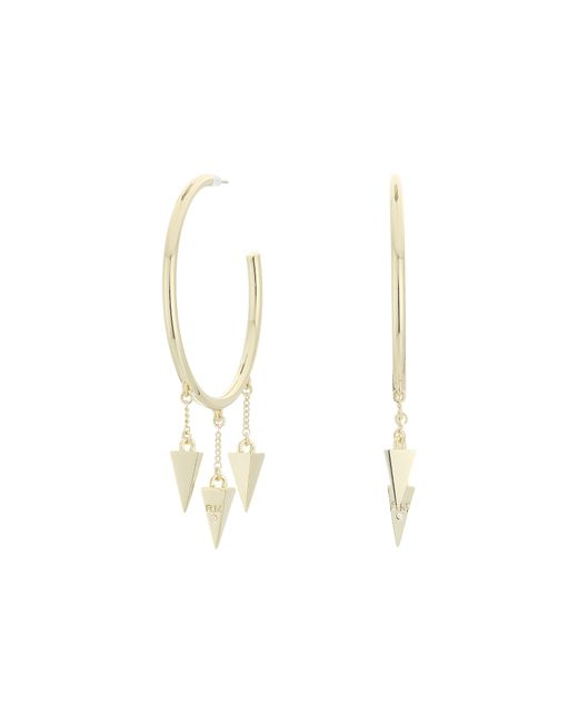 Rebecca Minkoff | Metallic Spiked Hoop Earrings | Lyst