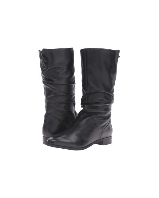 Dune | Black Puggy Strap And Buckle Ankle Boots | Lyst