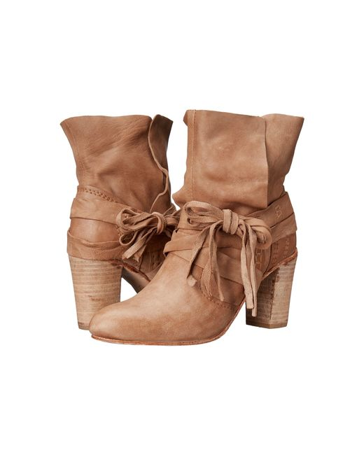 Free People | Brown Venture Ankle Boot | Lyst