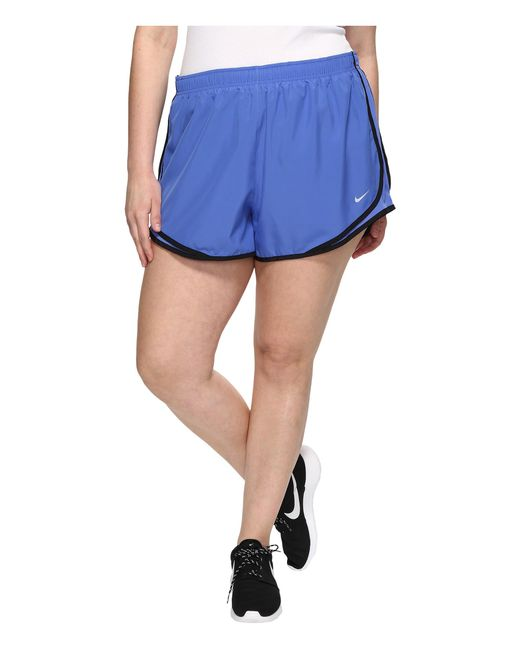 "Nike | Blue Dry Tempo 3"" Running Short (size 1x-3x) 