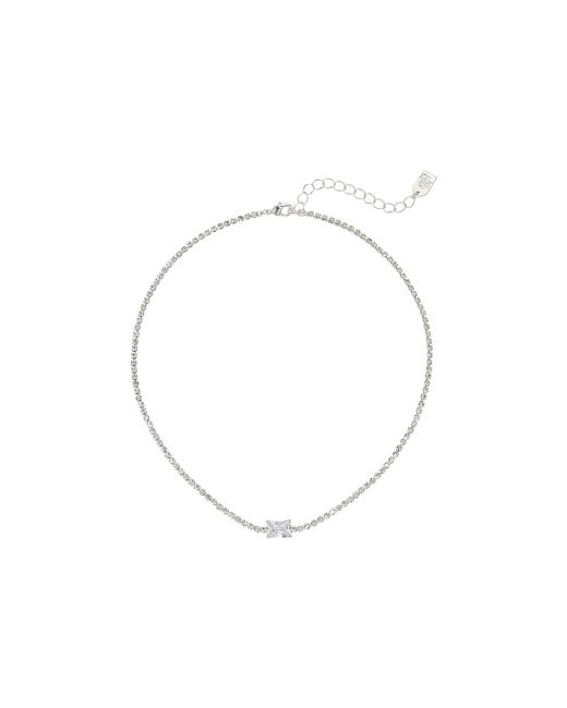 Lauren by Ralph Lauren | Metallic 12.5 Inches Stone Choker Necklace | Lyst