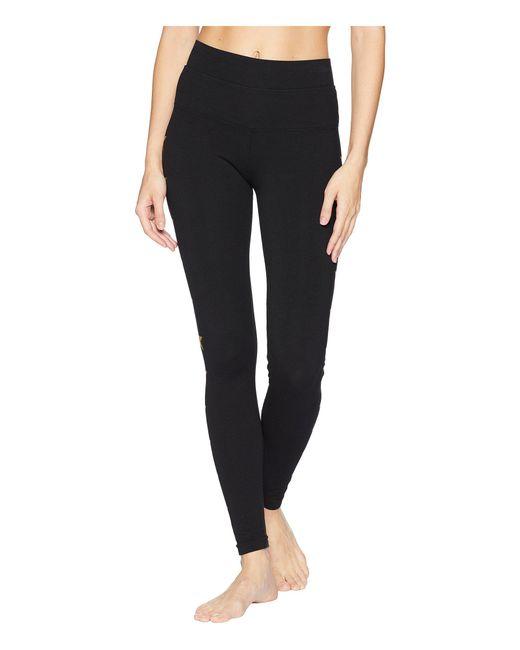 Hard Tail - Gold Stars Hi-waist Ankle Leggings (black/gold) Women's Casual Pants - Lyst