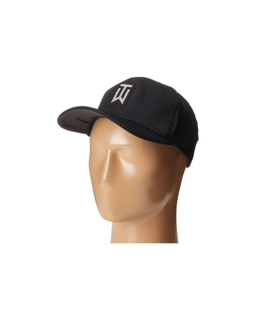 Nike | Black Tiger Woods Classic99 Statement Cap for Men | Lyst